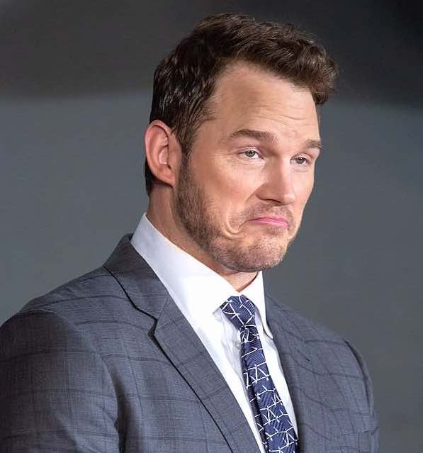 Chris Pratt, biblical dieter